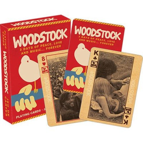 Playing Card - Woodstock - Poker Card Game New Licensed 52281