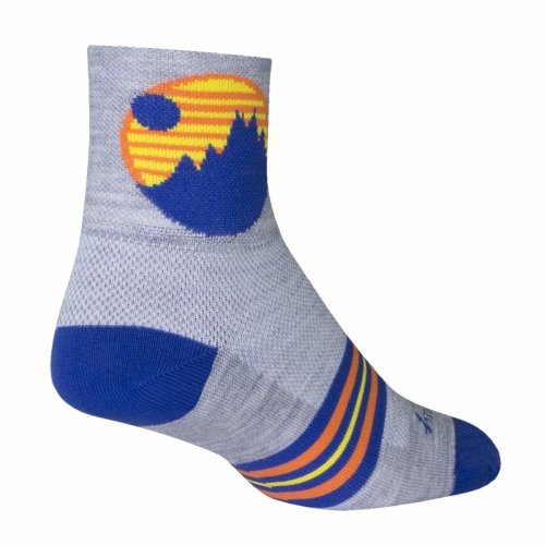"Socks - Sockguy - Wool 3"" Excursion L/XL Cycling/Running"