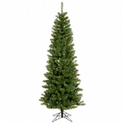 Vickerman A103045 4.5 ft. x 24 in. Salem Pencil Pine 217Tips