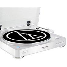 Audio-Technica AT-LP60BT White Wireless Bluetooth Turntable
