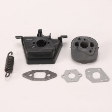 Carb Adapter Spacer Gasket Fit Partner 350 351 For Poulan 2050 2075 2150 2175 2250 PP220 PP260 2055 Chainsaw 530049700 530069608
