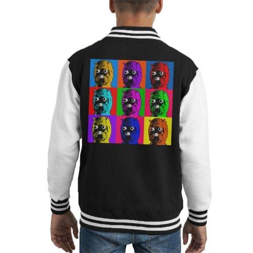 Original Stormtrooper Tuscan Raider Pop Art Kid's Varsity Jacket
