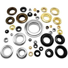 25pcs Brass Eyelets washers Leather Craft Grommets