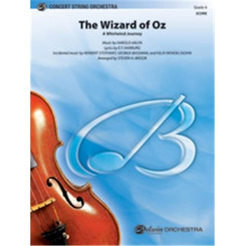 Alfred 00-41209 WIZARD OF OZ, THE-PCS