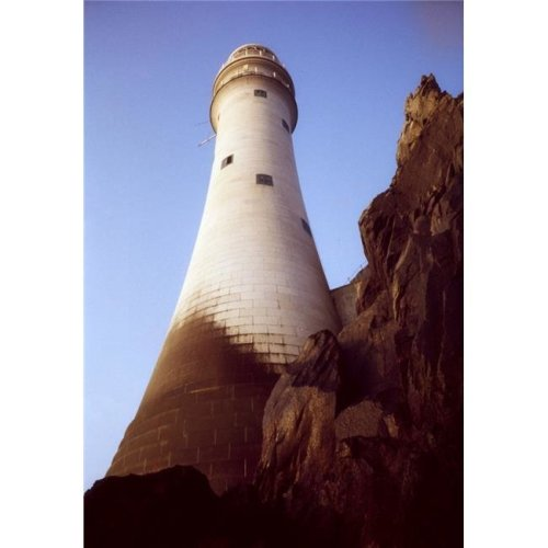 Fastnet Rock County Cork Ireland - Lighthouse Exterior Poster Print by Richard Cummins, 24 x 36 - Large