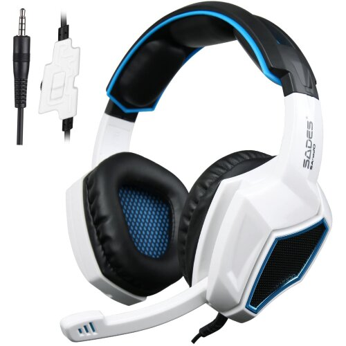 Xbox One PS4 Headset,Sades SA920 3.5mm Wired,PC iOS Computer Gamers