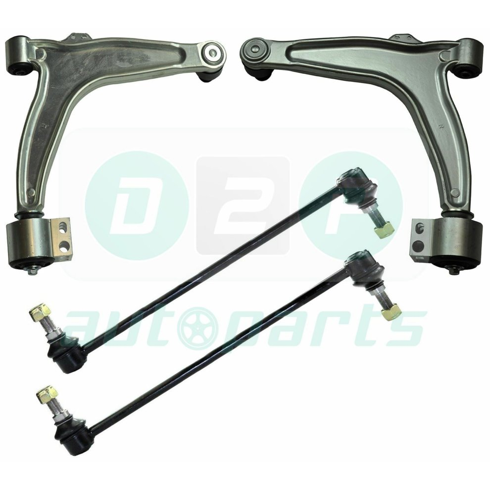 SAAB 9-3 Front Lower Suspension Wishbone Track Control Arms paire
