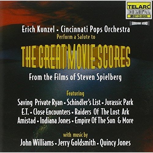 Cincinnati Pops Orchestra and Erich Kunzel - Spielberg: Great Movie Scores [CD]