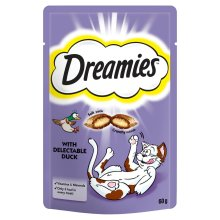 Dreamies Duck 60g (Pack of 8)