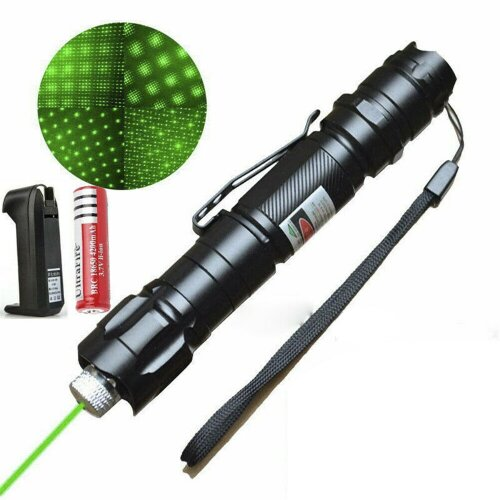 50Mile Military 1mW Green Laser Pointer Pen Lamp Lazer Visble Beam N