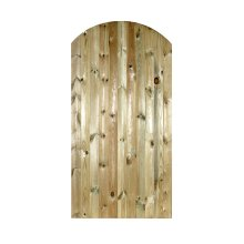 Carlton Wooden Bow Top Garden Gate treated timber