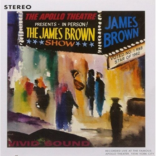James Brown - Live at the Apollo (1962) [CD]