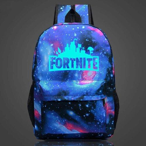 (Galactic) Luminous Fornite Backpack | Glow In The Dark Backpack