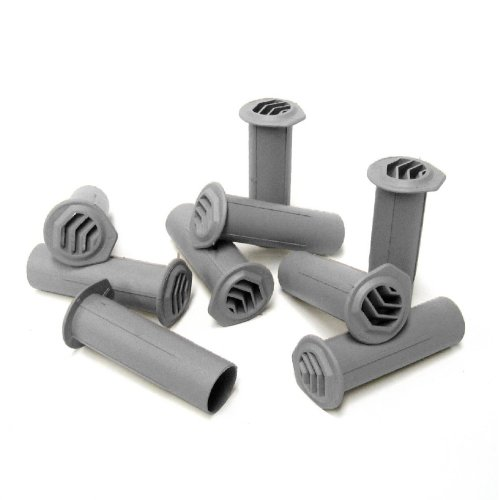 25 x Grey Round Drill Weep Vents Cavity Rendered, Retaining Walls