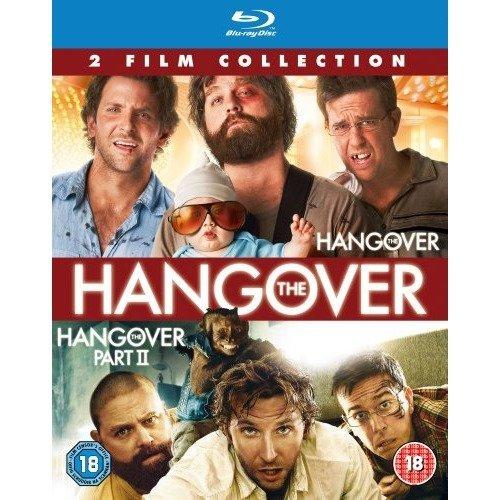 Hangover 1 and 2 (blu-ray)