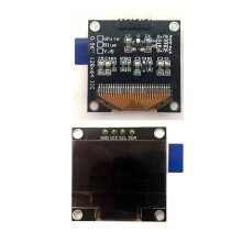 "0.96"" I2C IIC Serial 128X64 Blue OLED LCD LED Display Module for Arduino"