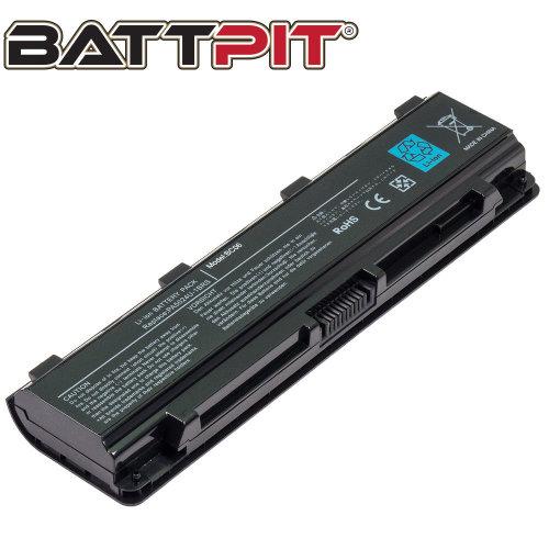 BattPit Battery for Toshiba Satellite C850 C850D C855 C870 C870D C875 C850-1KN L850-1EQ C855-1GQ C850-10U C850-1NU C850-173 C855-29L [6-Cell/48Wh]