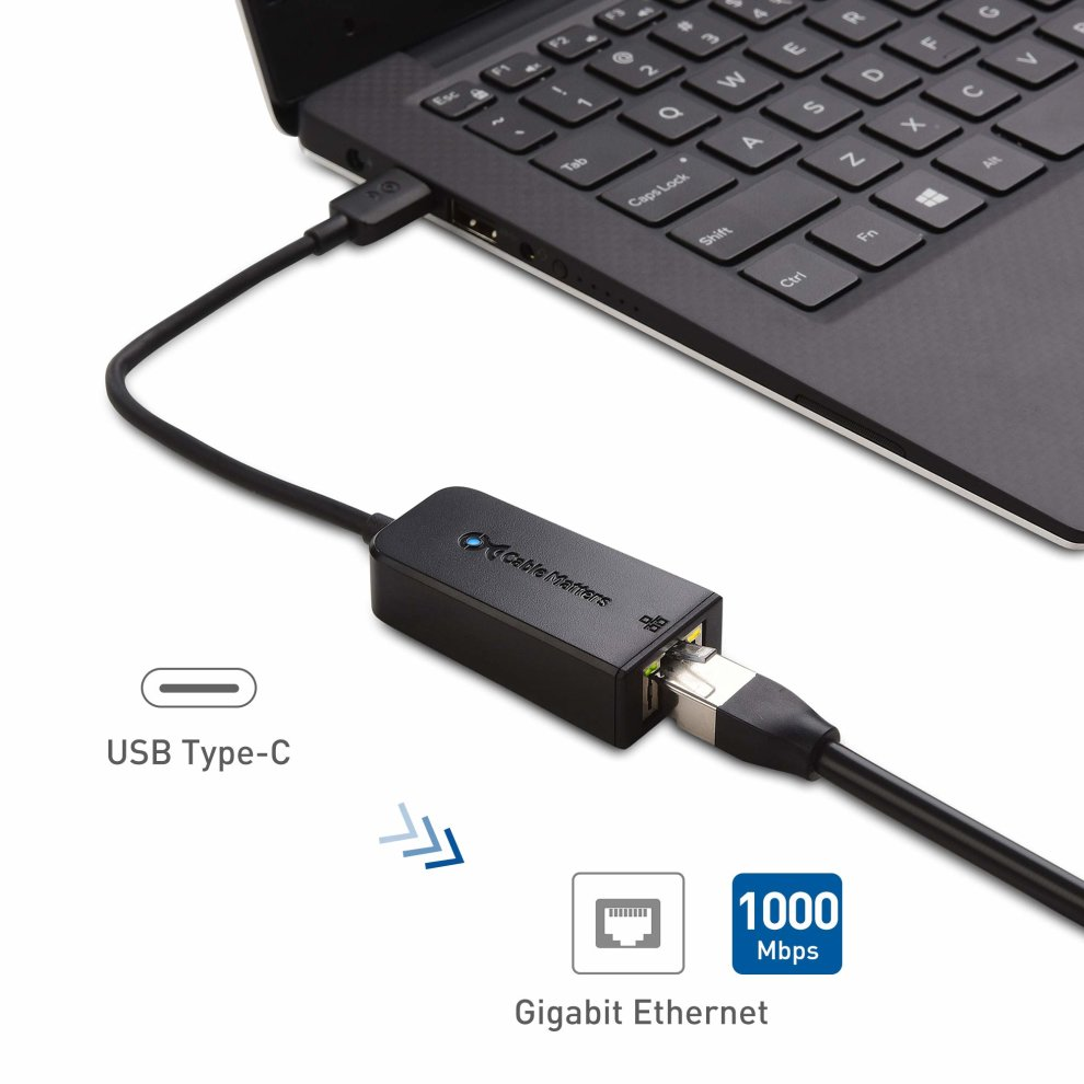 Cable Matters USB C to Ethernet Adapter (USB C to Gigabit ...