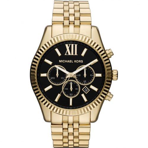 Michael Kors Lexington Chronograph Gold Bracelet Men's Watch MK8286