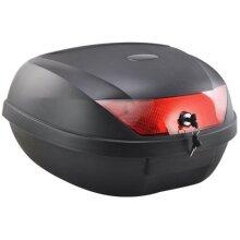 52L Motorcycle Top Box Back 2 Helmet Case Luggage Storage Motorbike