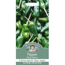 Mr Fothergills - Pictorial Packet - Vegetable - Pepper Hot Padron - 20 Seeds