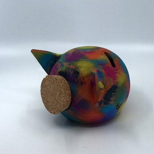 (OVERLAY, S) Chalk Collection Small Overlay Piggy Bank & Adults   Handmade
