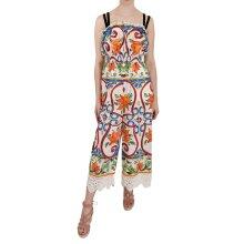 Jumpsuit Pants Majolica Cotton Dress