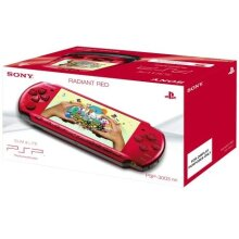 PSP Slim&Lite 3000 Console, Radiant Red - Used