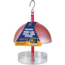 Gardman A01327 Robin and Small Bird Feeder - Red