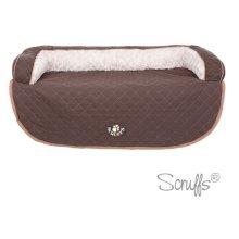 Scruffs Brown Wilton Sofa Pet Bed