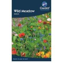 Wild Meadow Mixture Flower Seeds Garden Treasures
