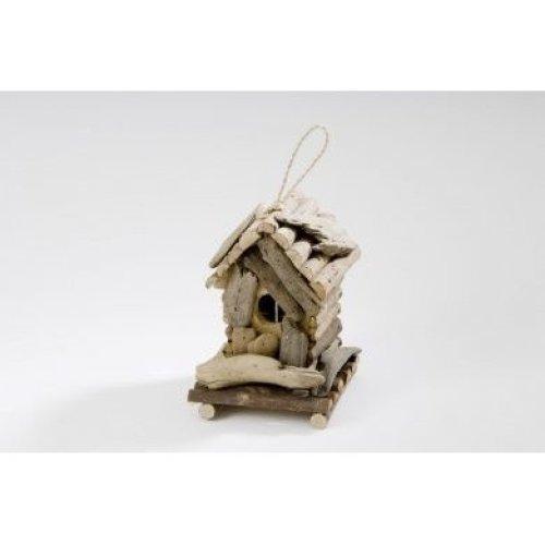 Driftwood Bird House Nest
