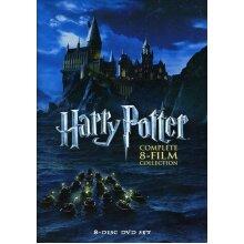 Warner Bros Harry Potter Complete 8-Film Collection | 1-8 DVD Box Set