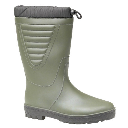 (9 UK, Green/Black) StormWells Unisex Tie Top Polar Boots