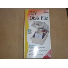3 5 quot FLOPPY PC MAC DISK DISC STORAGE BOX DATA CASE HOLDER TRAY FILE w lock NEW