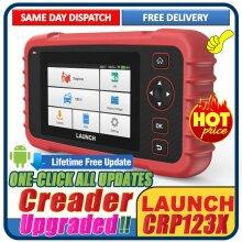 LAUNCH CRP123X EOBD2 Car Scanner Automotive Diagnostic Tool 4 System