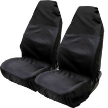 Hiveseen 2 Pack Universal Car Front Seat Covers Protectors, Size 75x55x55cm, Fits 99% of Vehicles Sport/Bucket Seats, Heavy Duty and Waterproof...