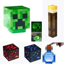 Minecraft LED light childrens Night Lights Toys