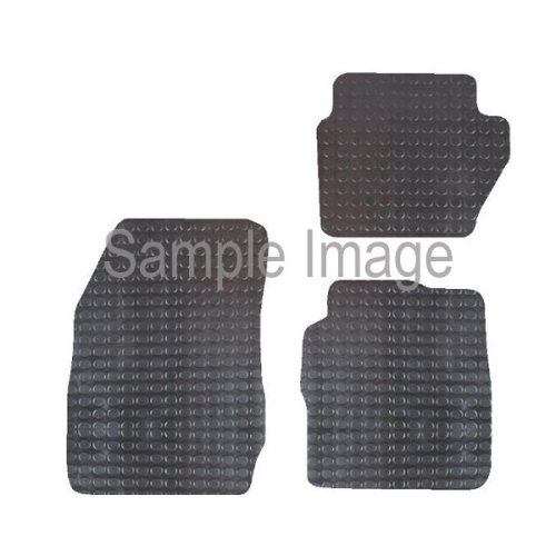POLCO Rubber Tailored Car Mat - Ford Fiesta MK7 (2011) - Pattern 2440 [FD36RM]