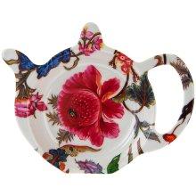 William Morris Anthina Florals Design Kitchen Tea Bag Tidy Melamine Holder Rest