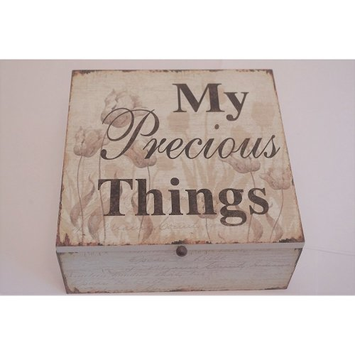 Memory Box Keepsake Chest Friendship My Precious Things