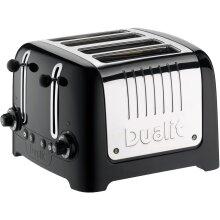 Dualit Lite 46205 4 Slice Toaster - Black