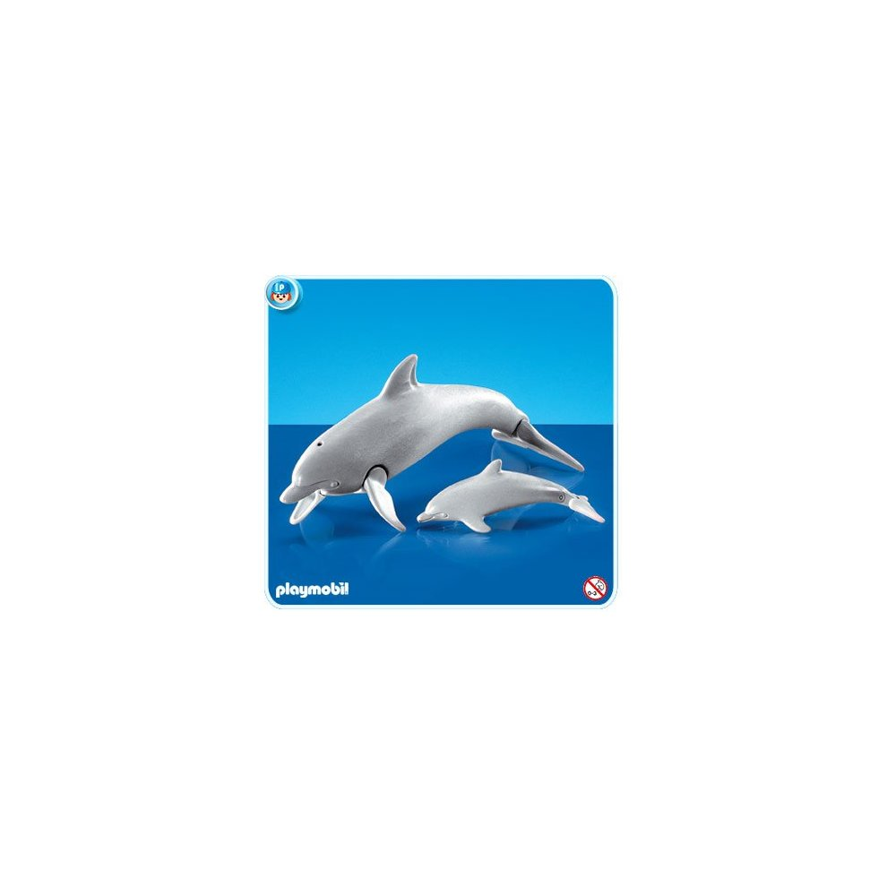 Playmobil Add On 7363 Dolphin With Calf