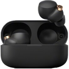 Sony WF-1000XM4 Truly Wireless Noise-Canceling Headphones - Black