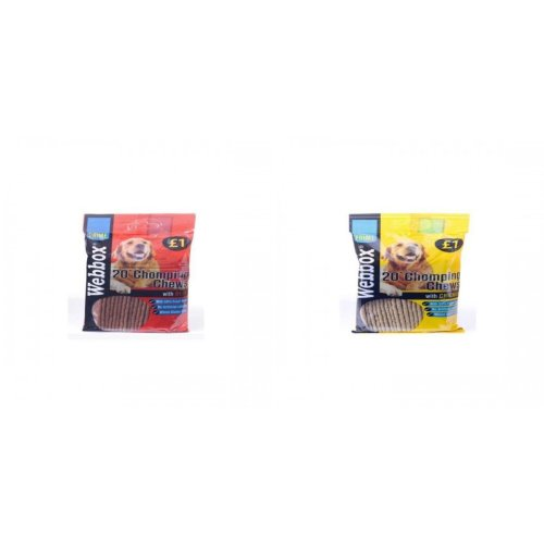 Webbox Chomping Chews For Dogs (Pack Of 16)