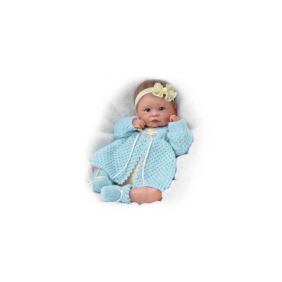 Sweetly Snuggled Sarah 16/'/' Doll by Ashton Drake