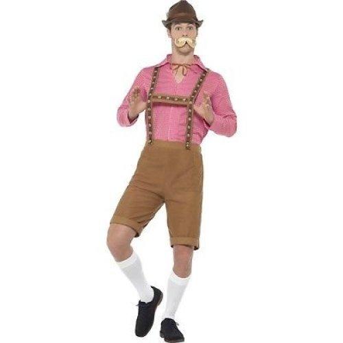 Oktoberfest Adults Fancy Dress Bavarian German Beer Mens Ladies Costume Shirts