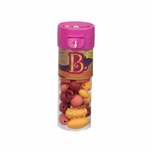 B. Toys Beauty Pops Jewellery Craft Set - Hot Pink