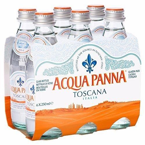 Acqua Panna  Natural Mineral Water - Still (250mlx6) x 4