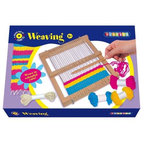 Playbox PBX2470170 Craft Set Yarn Weaving
